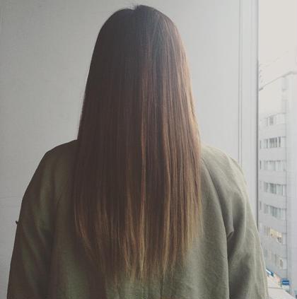 ナチュラルストレート hair&make mandrill所属・古内明日香のスタイル