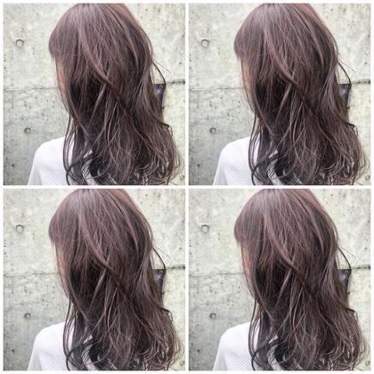 夏髪生かし❣️暗髪透明感秋冬カラー❤️