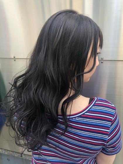 森田美貴のロングのヘアスタイル
