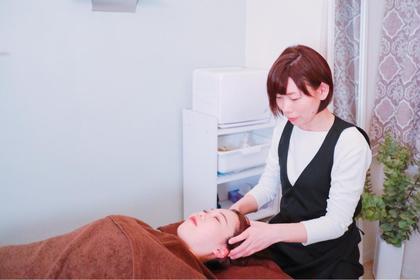 至福のヘッドマッサージリフトアップ、眼精疲労、血行改善、頭痛改善、美白効果あり