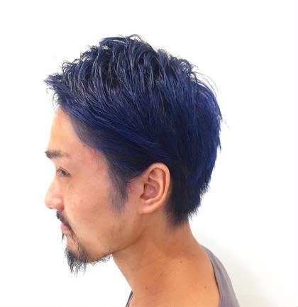 ネイビーブルー TONI&GUY静岡サロン所属・海野健造のスタイル