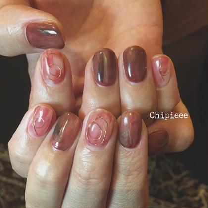 ネイル 紅葉nail♪