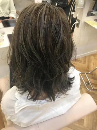 カラー ショート highlight / greige✂︎