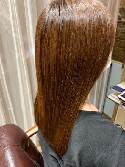 🍁10月限定🍁先着10名様💙イルミナカラー+髪質改善酸熱トリートメント✨#髪質改善#イルミナ#ツヤカラー