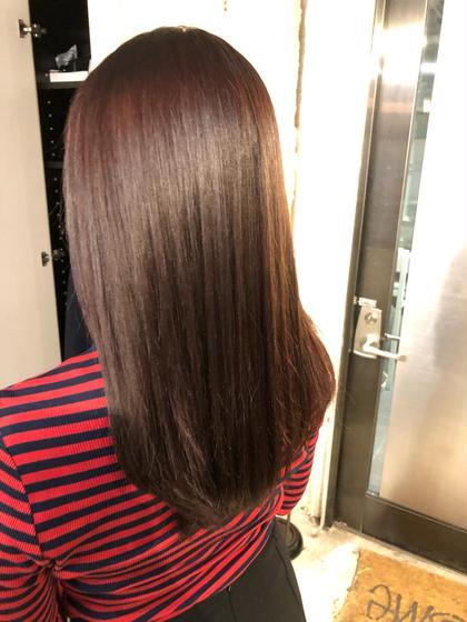 ✨梅雨前に✨髪質改善&ダメージレスカラー🌿✨  イルミナカラー➕髪質改善ストレート➕トキオトリートメント🌟
