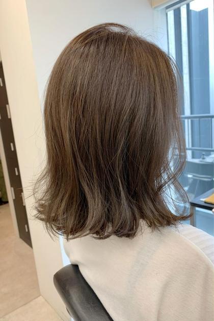 【ロング料金なし】フルカラー+ハホニコトリートメント+前髪カット+ショートspa