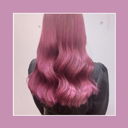 🌈 W Color 🌈 ブリーチ+オンカラー