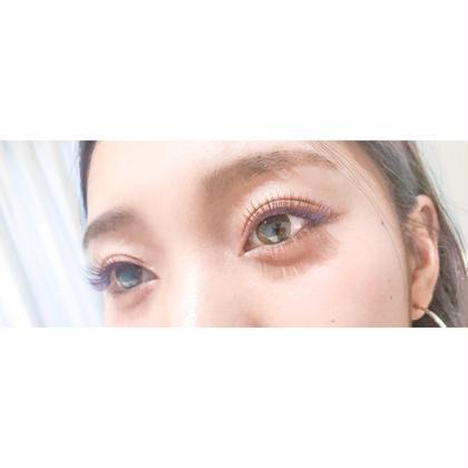 カラーエクステ→160〜200本迄付け放題♡ 2色mix