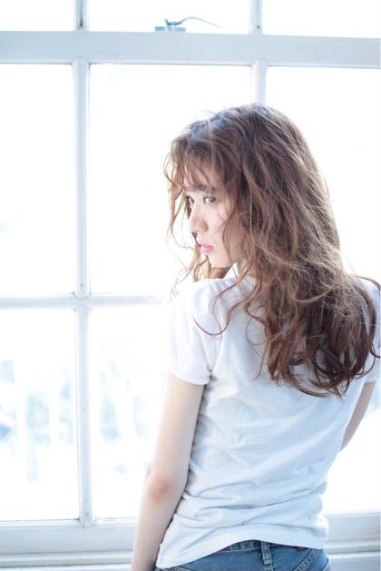 【🌈カラーを綺麗に見せる外国人風パーマ🌈】カット & パーマ