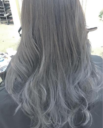 グレイアッシュバリヤージュ Miia hair design所属・畑翔のスタイル