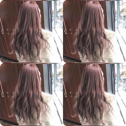 北川朔良のロングのヘアスタイル
