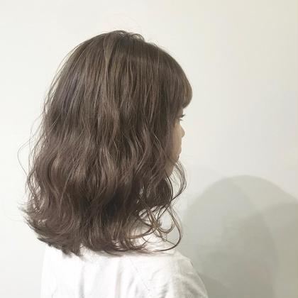 🍒どんな方でも◎前髪カット+透け感たっぷりダメージレスイルミナカラー✨+9種オーガニックトリートメント🍒