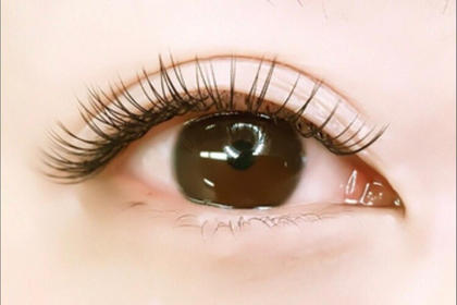 Cカール:ビューラー1、2回した感じのカール♡ EyeLashSalonVivisweet名駅店所属・森愛子のフォト