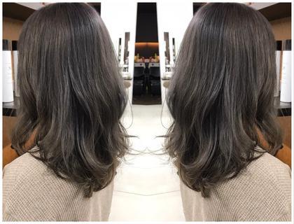 カット&美髪艶髪パーマ&完全補修型トリートメント