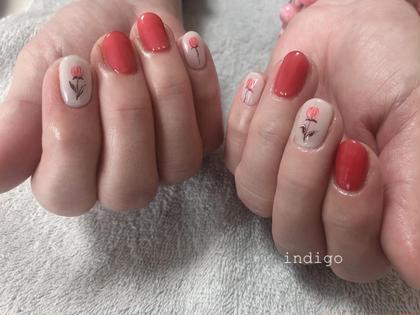 nail salonindigo所属の柴田未歩のネイルデザイン