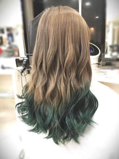 毛先に変化をっっっっ‼︎‼︎‼︎  ちまたで噂のロコルカラーで毛先を、、、 COUTURE所属・イチマルサトルのスタイル