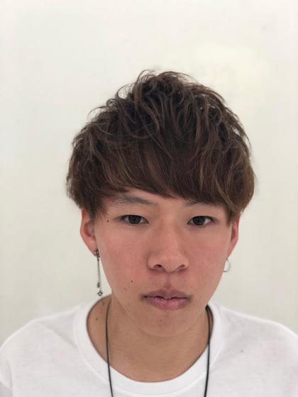 ✨メンズ限定新メニュー✨カット&ハイライトorメッシュ&カラー