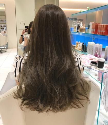 前髪カット無料 & こだわりカラー& グロストリートメント