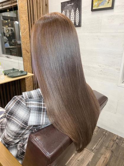 ✨【髪質改善】ULTOWA(ウルトワ)高濃度水素TR+フルカラー✨