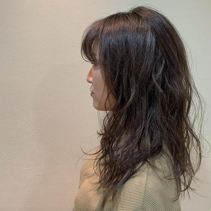 バージン毛からのメッシュトーンアップ! 柔らかい印象になります!😊 安丸元耶の