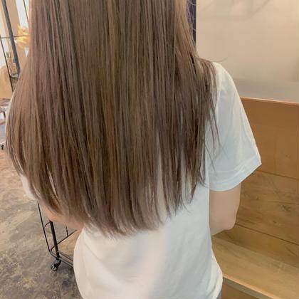 ブリーチオンカラー➕髪質改善潤いTR