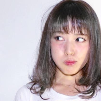 【圧倒的透明感!】全体ブリーチ+全体フルカラー+髪質改善トリートメント(痛まないケアブリーチ+2000円)