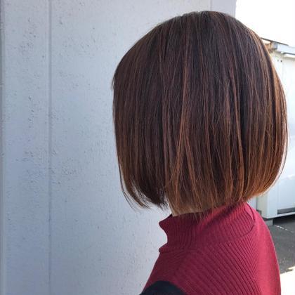 💜カット+縮毛矯正💜 お客様の気になるクセや広がる所を、 しっかり解決していきます✂︎