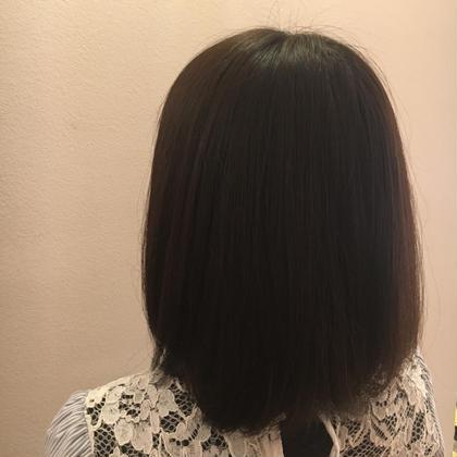 ナチュラルブラウン ❤︎  1年前に黒染めした方のカラーです! HAIRCLEATECLEAR所属・高木琴美のスタイル