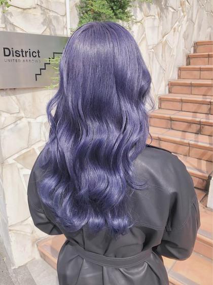 【✨9月minimo限定メニュー✨】ハイトーンブリーチ👑+艶髪カラー💍+似合わせカット+髪質改善トリートメント🖤