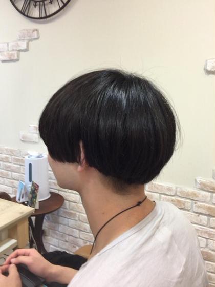 最近流行りのマッシュヘアー(o^∀^o) hair&make〜D〜所属・平城勝也のスタイル