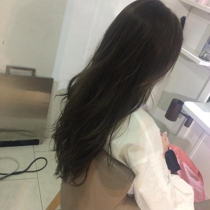 馬部研二郎のロングのヘアスタイル