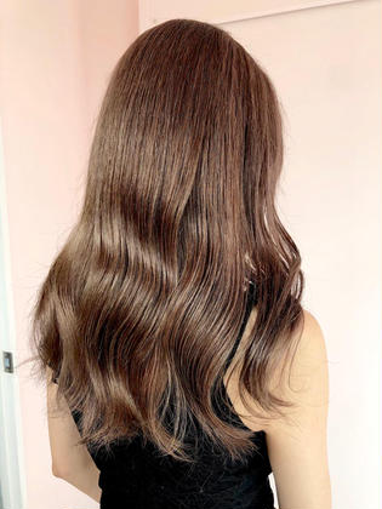 【✨髪質改善✨】ブリーチしてても艶々😮❗️ プリンセストリートメント👑💍💖  #韓国