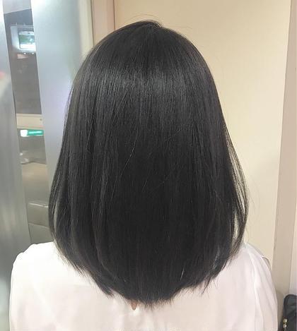 ✨人気No.2✨小顔・似合わせCut&低ダメージ縮毛矯正&贅沢トリートメント