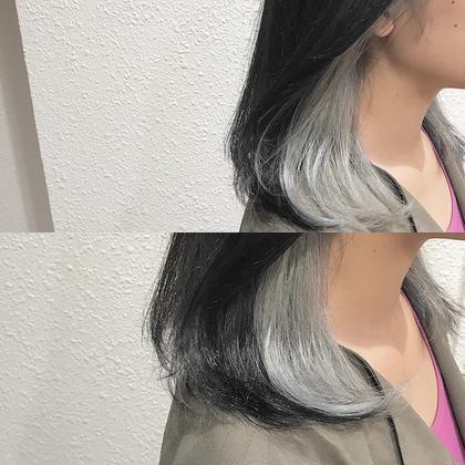 カラー bleach3回は必須!! ホワイトカラー❤