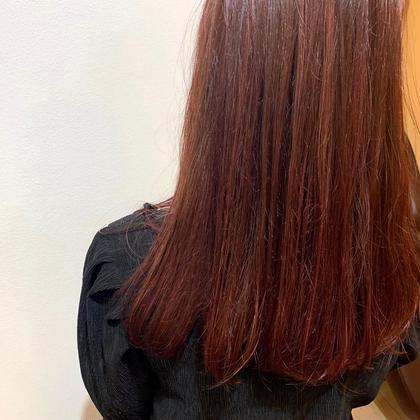 👩🏼🦰髪質改善+カット✂️
