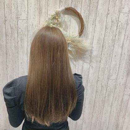 🦥綺麗な美髪へ導く🦥アドミオ・イルミナ全体カラー+髪質改善(酸熱トリートメント)
