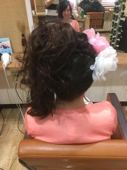 ふわふわセット!(*`へ´*)  可愛さマックス!!(笑) HairLogia所属・伊藤雄哉のスタイル