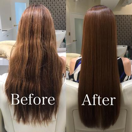 🉐 髪質改善🦋美髪チャージ&カット&外国人風カラー& トリートメント