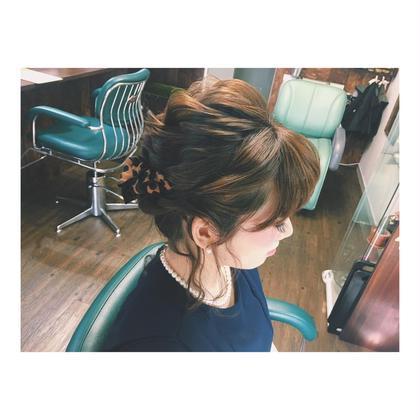 スカーフアレンジ♡ サダハルカのヘアアレンジ