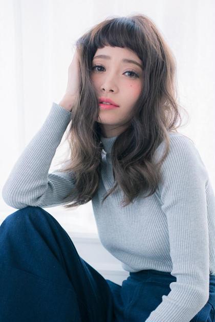 【1〜2月限定】前髪カット✨透明感カラー✨炭酸プラチナトリートメント