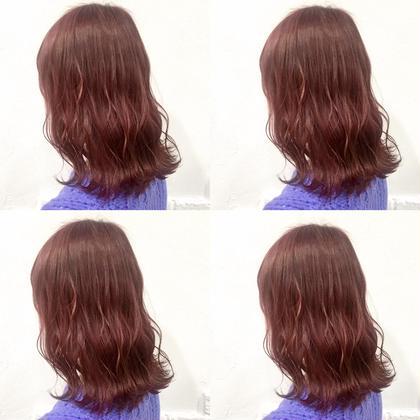 💗1ブリーチ✖️ピンク系➕髪質に合わせたシャンプー➕8stepハホニコオリジナルさら艶トリートメント💗