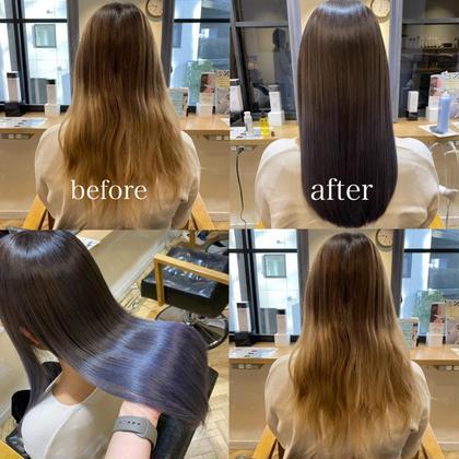 💎髪質改善💎カット➕イルミナカラー➕サイエンスアクア【上野】