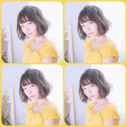 🌷1日3名限定‼️カット&ツヤ髪透明感カラー❣️【白髪染めも可】+トリートメント🌹