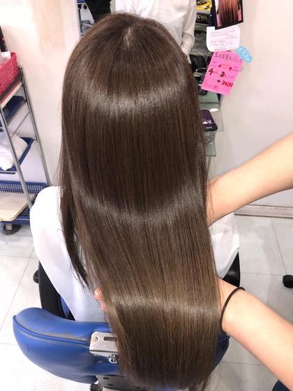 髪質改善カラーエステで史上最高の美髪に! プラウド所属・坂野健二のスタイル