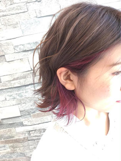 HAIR&MAKE  EARTH米沢店所属・森貴大のスタイル