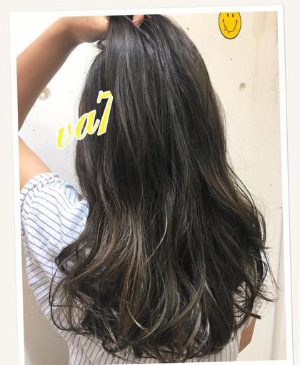 その他 カラー ロング 夏🌞カラー✨  UVケアで髪の毛の日焼け対策も出来るメニューです♪