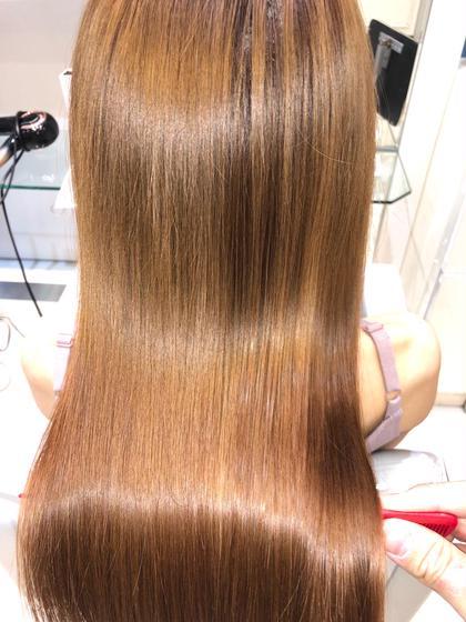 【ブリーチ毛用】✨カット+髪質改善縮毛矯正✨〜ブリー毛で縮毛矯正がかけれないあなたを艶髪に導きます〜