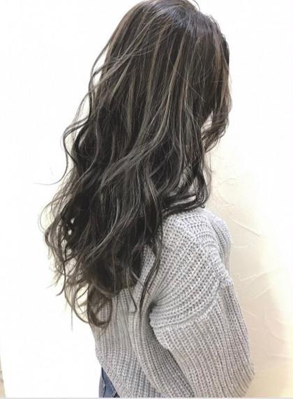 【ハイライトはカットでいきる!】外国人風3Dハイライト&カット&全体フルカラー&髪質改善トリートメント
