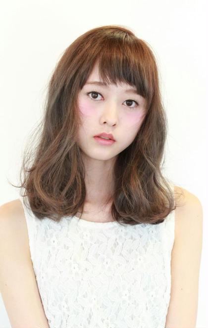 hair&make bis所属・野中小友美のスタイル