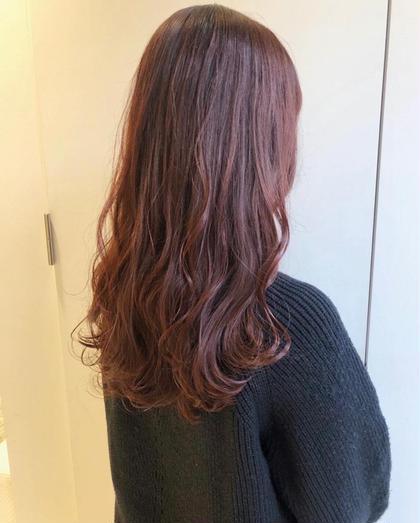🥇新規様NO.1🥇柔らかい透け感が欲しい💗👼『透明感カラー+髪質改善生トリートメント+前髪カット』